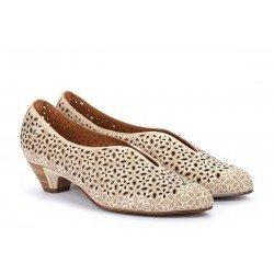 Zapatos Mujer Pikolinos Elba W4B-5900 Blanco Marfil