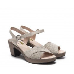 Sandalias Mujer 24 Hrs  24546 Beige