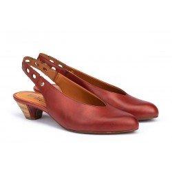Zapatos Salón Mujer Pikolinos Elba W4B-5906 Rojo Sandía