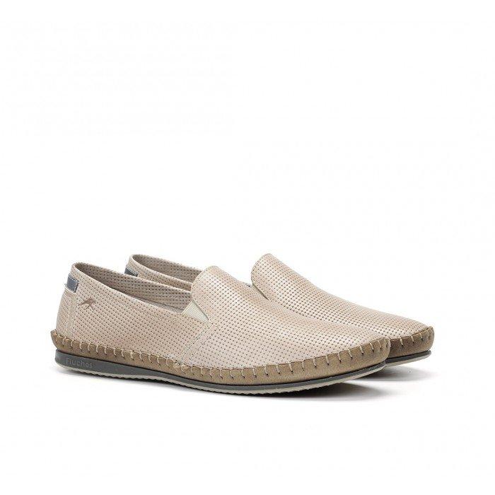 Zapatos Hombre Fluchos Bahamas 8674 Beige Piedra