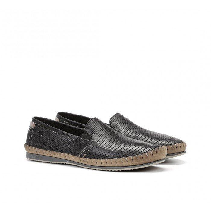 Zapatos Hombre Fluchos Bahamas 8674 Negro