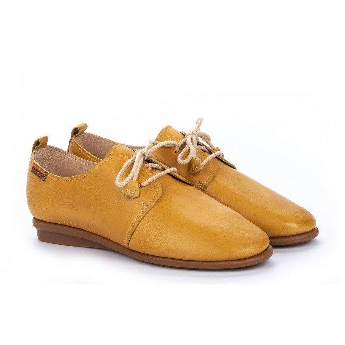 Zapatos Mujer Pikolinos Calabria W9K-4985 Amarillo Honey