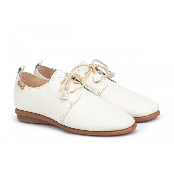 Zapatos Mujer Pikolinos Calabria W9K-4985 Blanco Nata