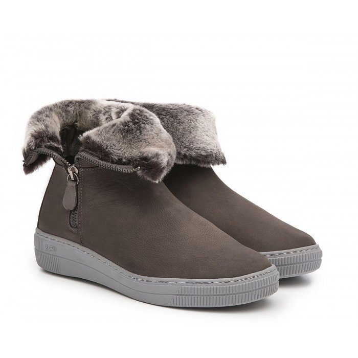 Botines Mujer 24 Hrs 23889 Gris