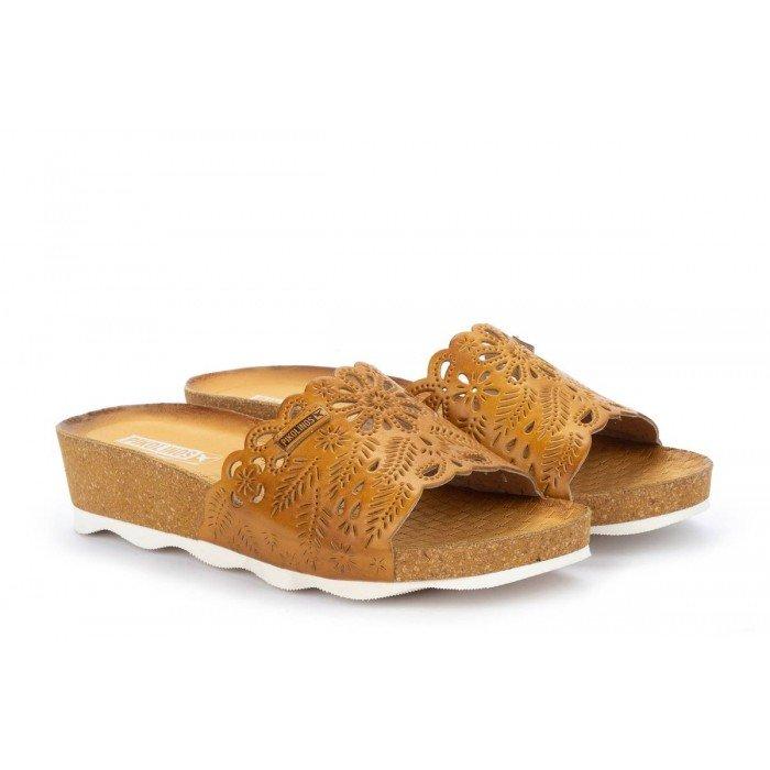 Sandalias Mujer Pikolinos Mahon W9E-0852 Amarillo Honey