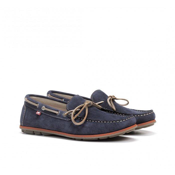 Zapatos Hombre Fluchos Evoke F0425 Azul Zafiro