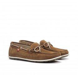 Zapatos Náuticos Hombre Fluchos Evoke F0425 Marrón Seter