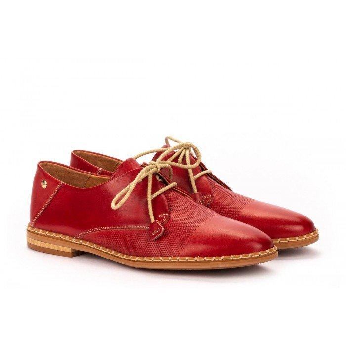 Zapatos Mujer Pikolinos Merida W4F-4994 Rojo Coral
