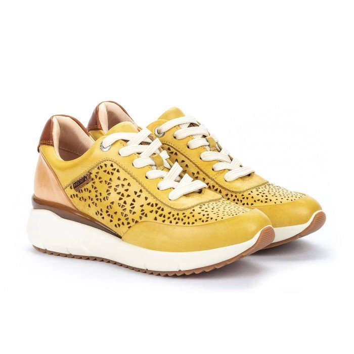 Zapatos Deportivos Mujer Pikolinos Sella W6Z-6869C1 Amarillo Sol