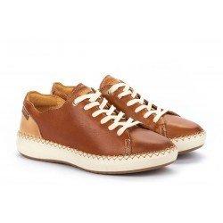 Zapatos Mujer Pikolinos Mesina W6B-6836 Cuero Brandy