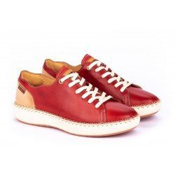 Zapatos Mujer Pikolinos Mesina W6B-6836 Rojo Coral