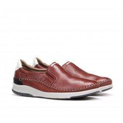 Zapatos Hombre Fluchos Maui F0794 Rojo Terracota