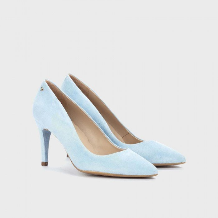 Zapatos Salón Mujer Martinelli Thelma 1489-3366A Celeste