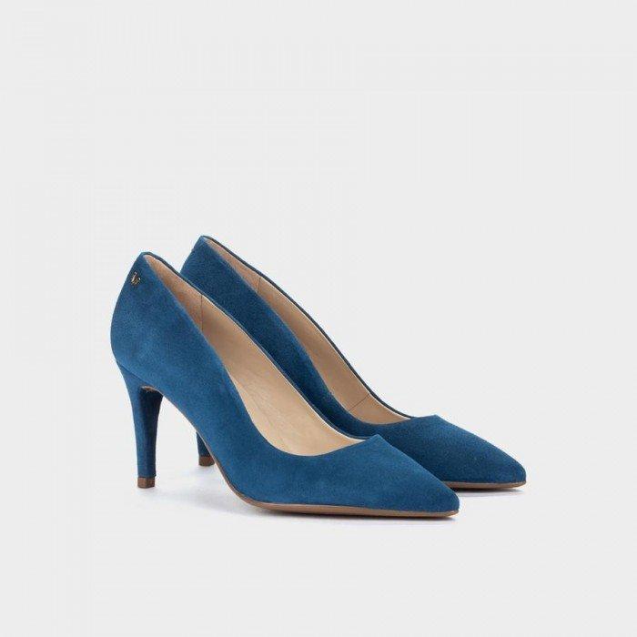 Zapatos Salón Mujer Martinelli Thelma 1489-3366A Azul Marino