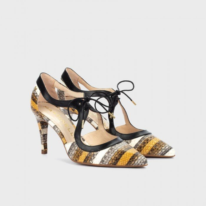 Zapatos Salón Mujer Martinelli Thelma 1489-3498L Cuero
