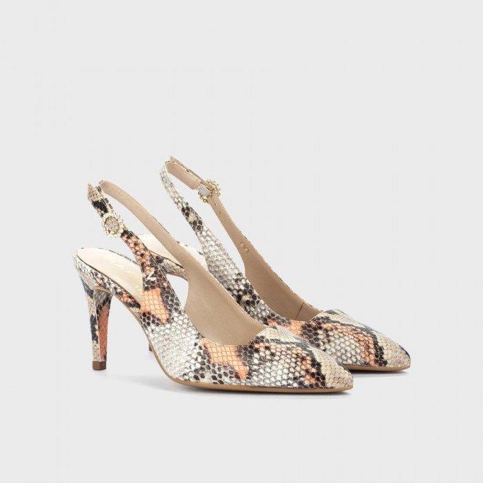 Zapatos Salón Mujer Martinelli Thelma 1489-6554B Salmón