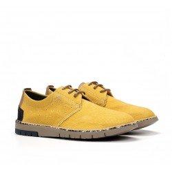 Zapatos Hombre Fluchos Thomas  F0560 Amarillo Maiz