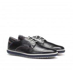 Zapatos Hombre Fluchos Pegaso 9710 Marino Terracota