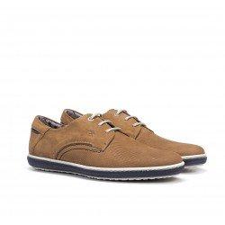 Zapatos Hombre Fluchos Pegaso 9706 Cuero Marino