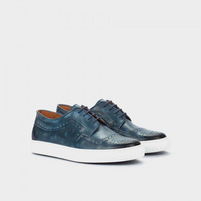 Zapatos Deportivos hombre Martinelli Allen 1415-2523L Azul Jeans
