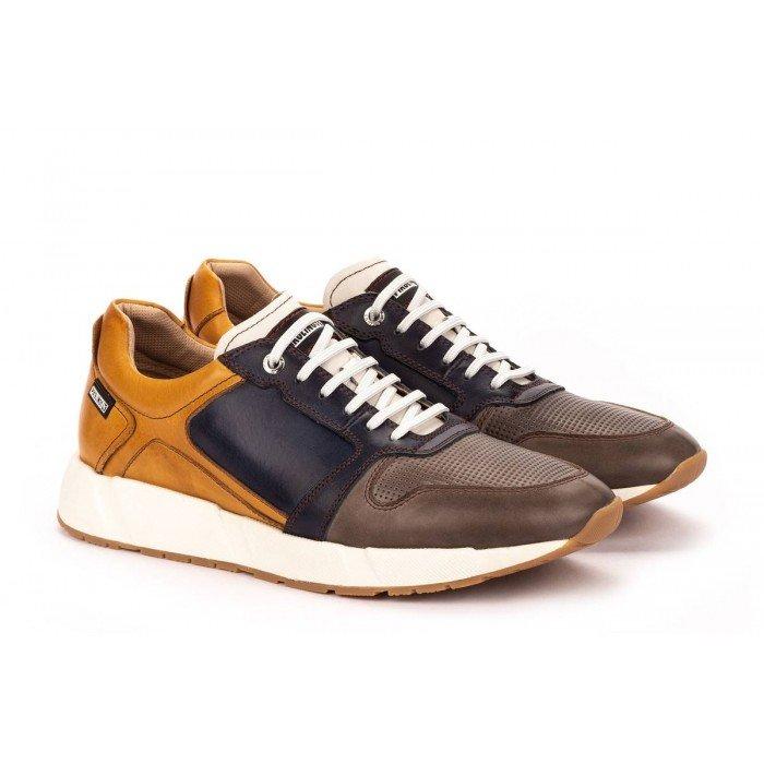 Zapatos Deportivos Hombre Pikolinos Meliana M6P-6341C1 Gris