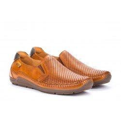 Zapatos Hombre Pikolinos Azores O6H-3126 Cuero Brandy