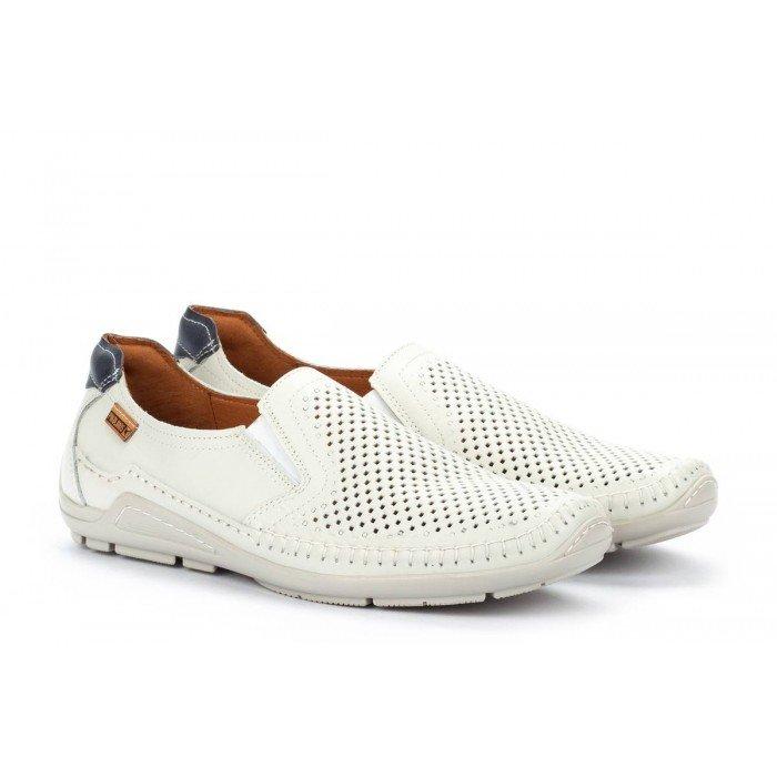 Zapatos Hombre Pikolinos Azores O6H-3126 Blanco Espuma