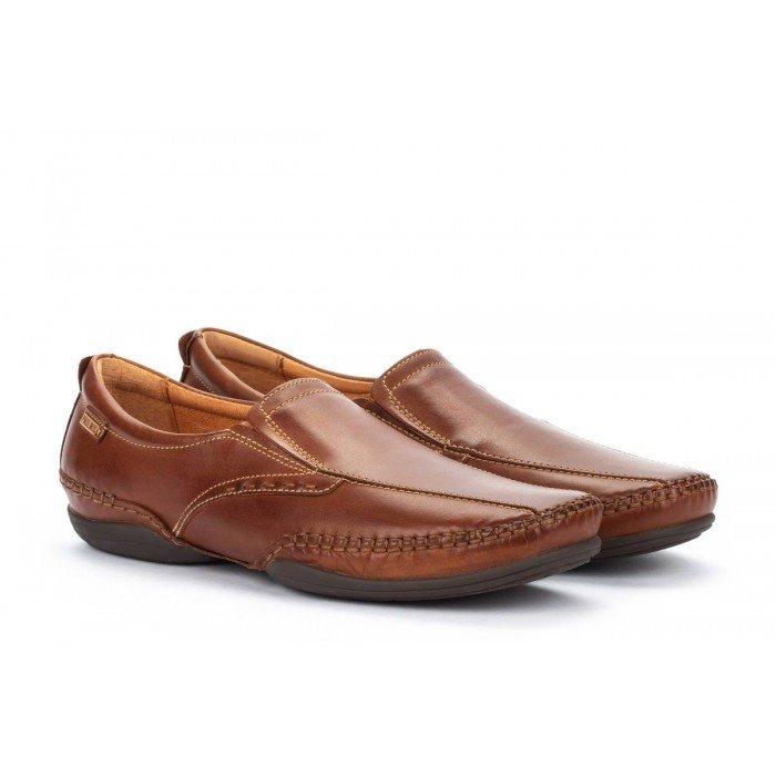 Zapatos Hombre Pikolinos Puerto Rico 03A-6222 Cuero