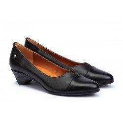 Zapatos Salón Mujer Pikolinos Blanca W9J-5964 Negro