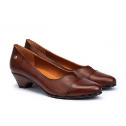 Zapatos Salón Mujer Pikolinos Blanca W9J-5964 Cuero