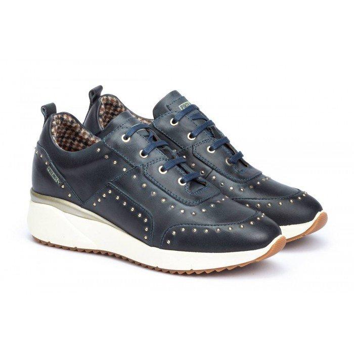 Zapatos Deportivos Mujer Pikolinos Sella W6Z-6806 Azul Ocean