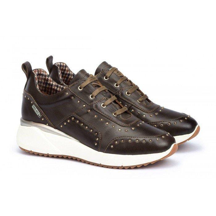 Zapatos Deportivos Mujer Pikolinos Sella W6Z-6806 Marrón Seamoss