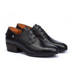 Zapatos Blucher Mujer Pikolinos Daroca W1U-5992 Negro