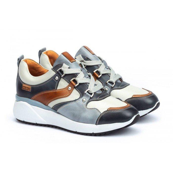 Zapatos Deportivos Mujer Pikolinos Sella W6Z-6521C1 Azul Ocean
