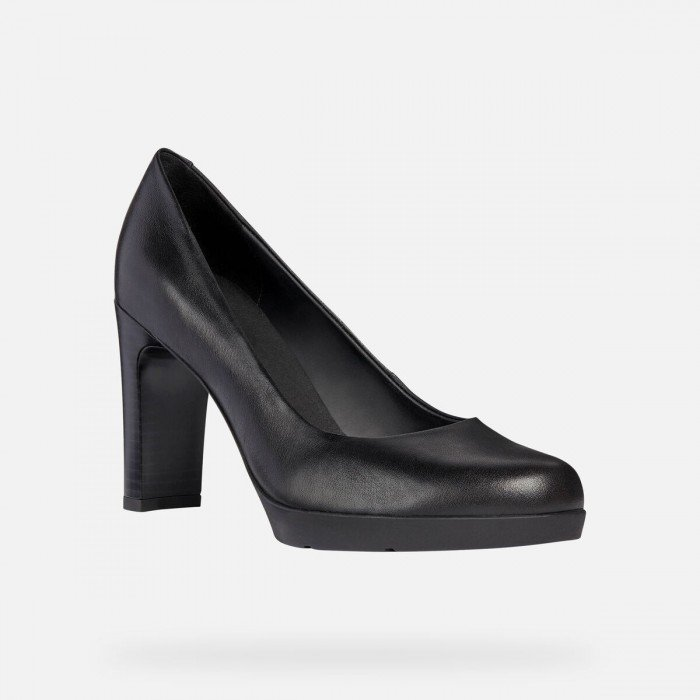 Zapatos Mujer Geox D Annya High A Negro