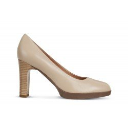 Zapatos Mujer Geox D Annya High A Beige
