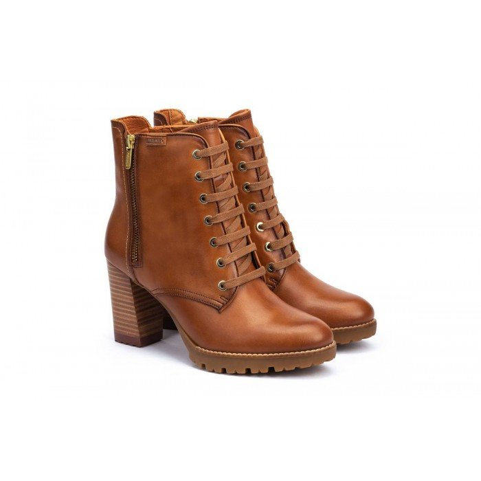 Botines Mujer Pikolinos Connelly W7M-8788 Brandy