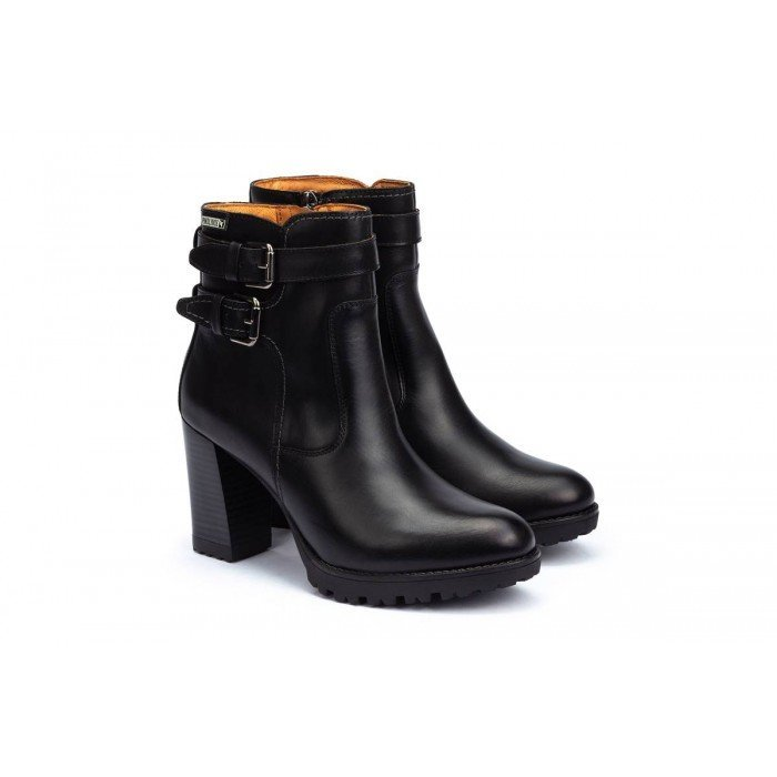 Botines Mujer Pikolinos Connelly W7M-8854 Negro
