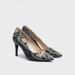 Zapatos Salón Mujer Martinelli Thelma 1489-3366P Print Gris