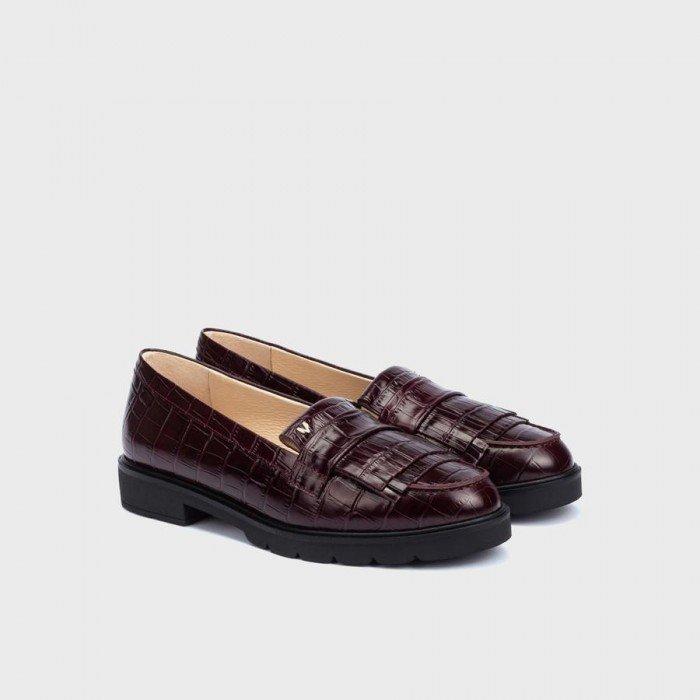 Zapatos Mocasines Mujer Martinelli Derek 1449-5554L Grana