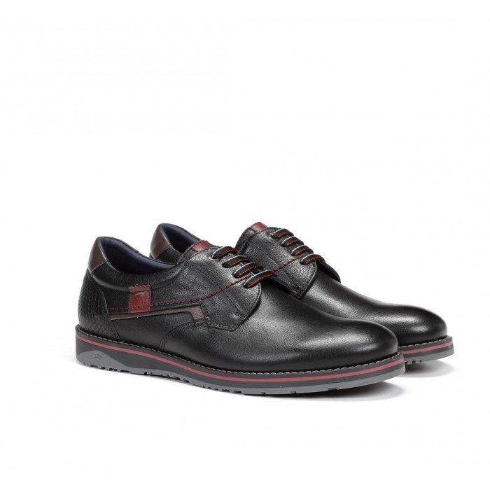 Zapatos Hombre Fluchos Brad 9474 Capri Negro