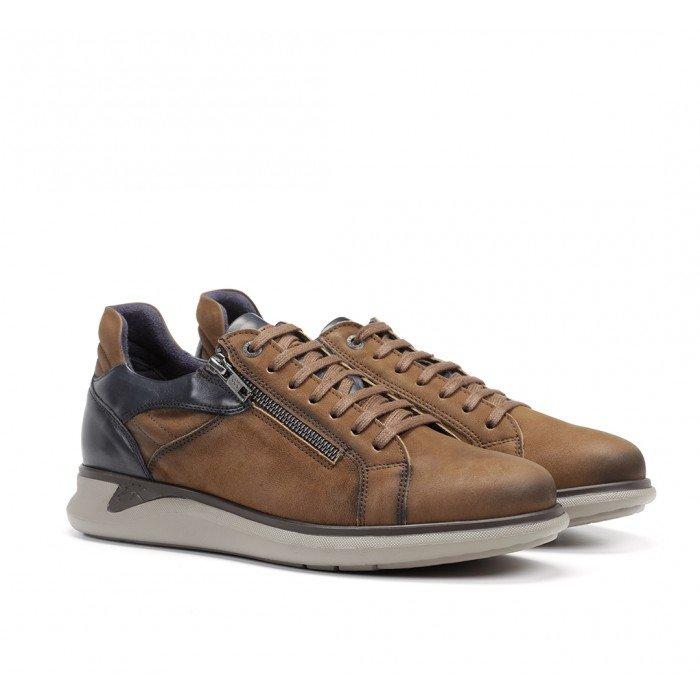 Zapatos Deportivos Hombre Fluchos Cooper F0964 Cuero