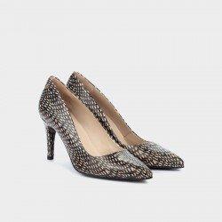Zapatos Salón Mujer Martinelli Selena 1365-3486M Negro Blacknude