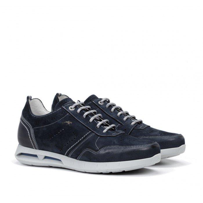 Zapatos Deportivos Hombre Fluchos Cypher F0554 Azul