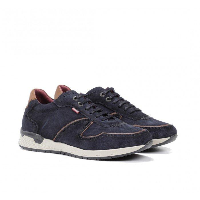 Zapatos Deportivos Hombre Fluchos Emory F1030 Azul Marino