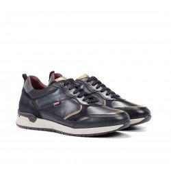 Zapatos Deportivos Hombre Fluchos Emory F1032 Azul Marino