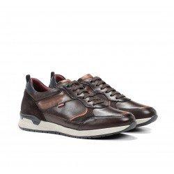 Zapatos Deportivos Hombre Fluchos Emory F1032 Café
