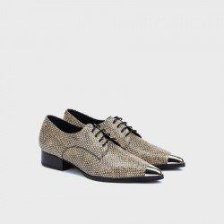Zapatos Mujer Martinelli Pompidou 1507-6649J Beige