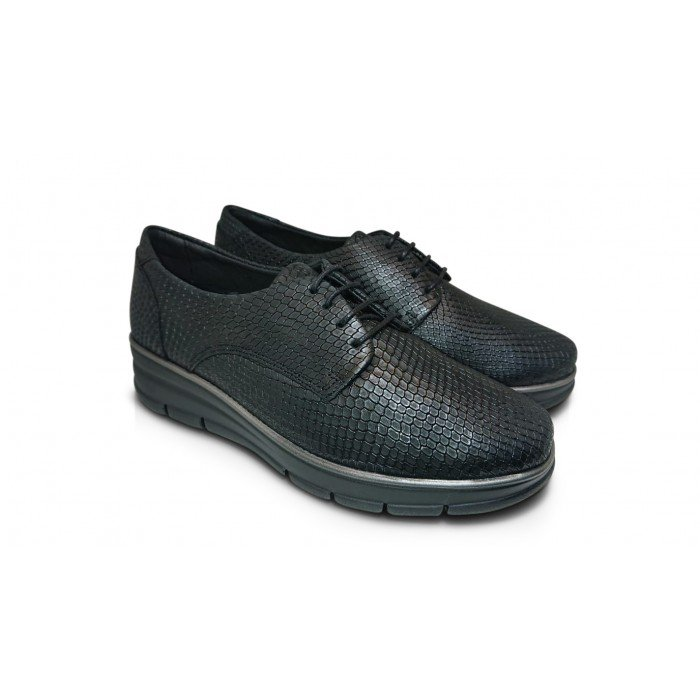 Zapatos Mujer 24 Hrs 24292 Negro