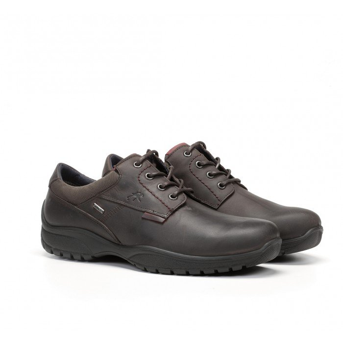 Zapatos Hombre Fluchos  Wolf F0916 Marrón Café